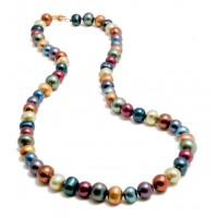 Colorful Freshwater Pearl Necklace