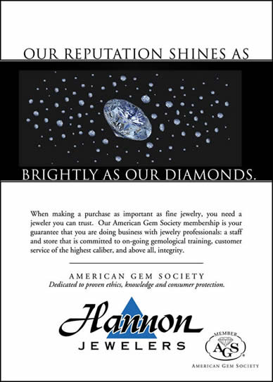 Our reputation shines as brightly as our diamonds